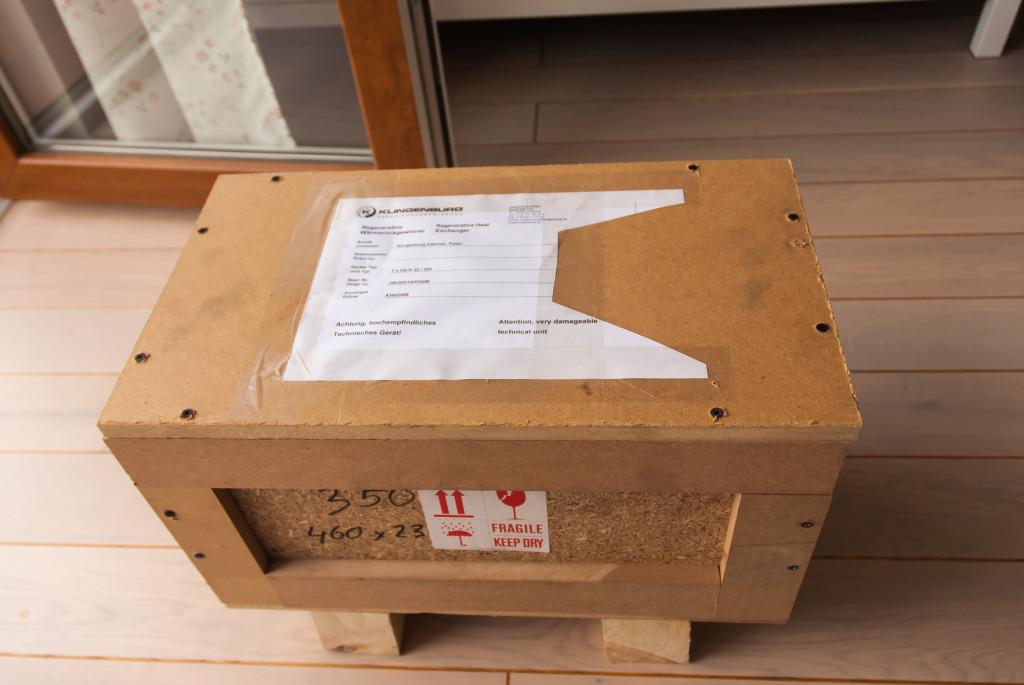 Paczka z wymiennikiem z Klingenburg'a